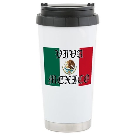 VIVA MEXICO SHIRT Stainless Steel Travel Mug