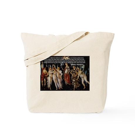 Sexual Philosophy Plato Tote Bag