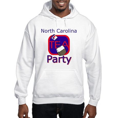 No Date: New York Tea Party Hooded Sweatshirt