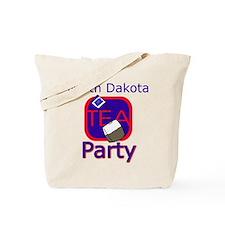 No Date: North Dakota Tea Party Tote Bag