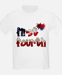 First Fourth - T-Shirt