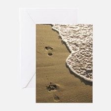 Footprints in the Sand Greeting Cards (Pk of 20)