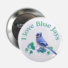 "Blue Jay 2.25"" Button"