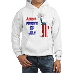 Liberty Fourth of July Hoodie