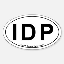 IDP Oval - Oval Decal