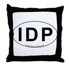 IDP Oval - Throw Pillow