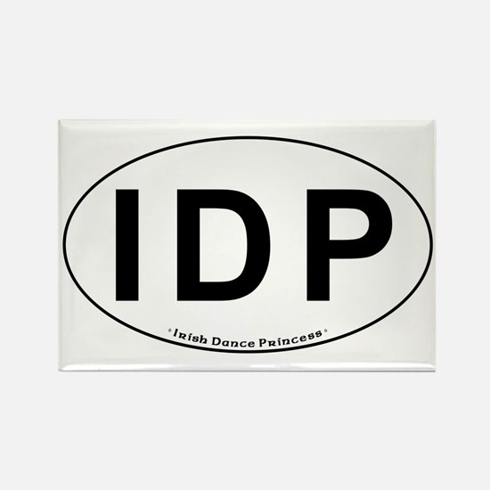 IDP Oval - Rectangle Magnet