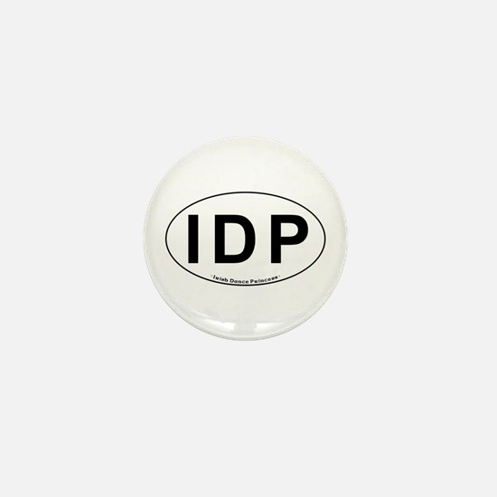 IDP Oval - Mini Button
