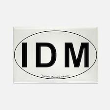 IDM Oval - Rectangle Magnet