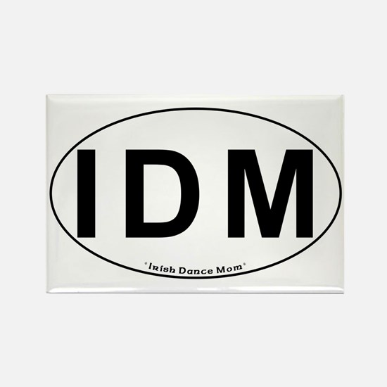 IDM Oval - Rectangle Magnet