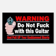 Guitar Warning