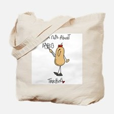 I'm Nuts About Teaching Tote Bag