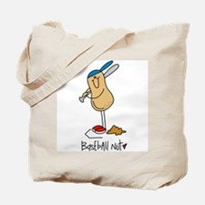 Baseball Nut Tote Bag