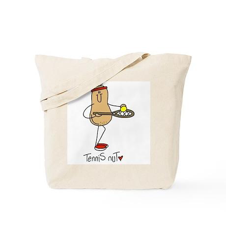 Tennis Nut Tote Bag