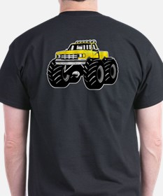 Yellow MONSTER Truck T-Shirt