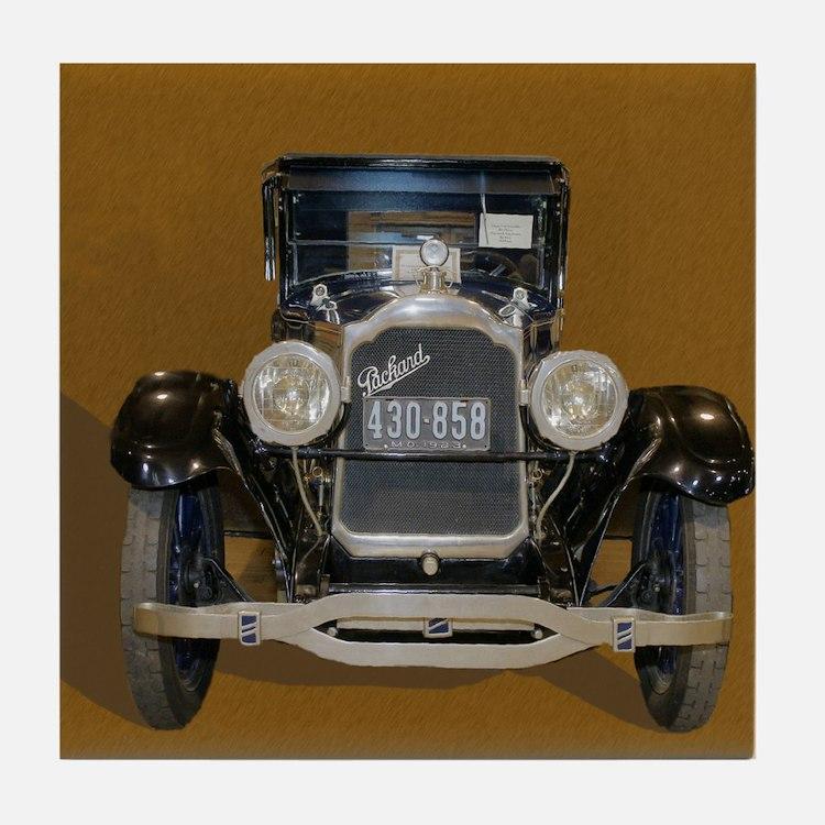 Old Packard Tile Coaster