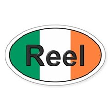 Reel Oval - Oval Decal