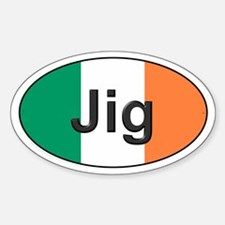 Jig Oval - Oval Decal