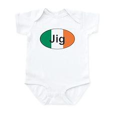 Jig Oval - Infant Bodysuit
