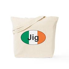 Jig Oval - Tote Bag