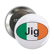 "Jig Oval - 2.25"" Button"