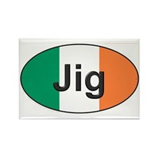 Jig Oval - Rectangle Magnet