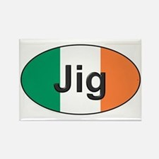 Jig Oval - Rectangle Magnet