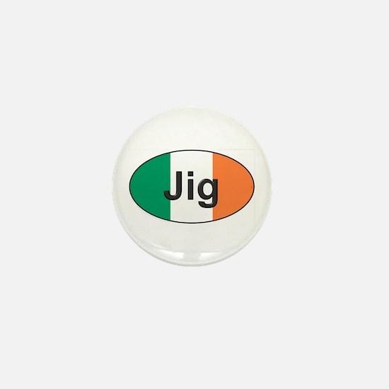 Jig Oval - Mini Button
