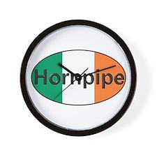 Hornpipe Oval - Wall Clock