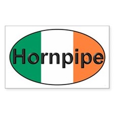 Hornpipe Oval - Rectangle Decal