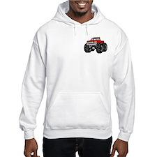 Red MONSTER Truck Hoodie