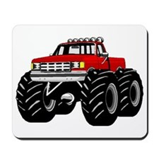 Red MONSTER Truck Mousepad