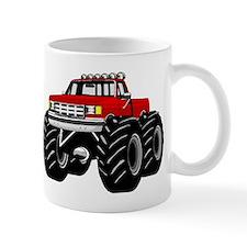 Red MONSTER Truck Mug