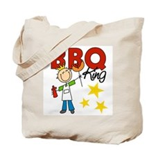 Barbecue King Tote Bag