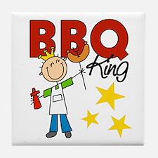Barbecue King Tile Coaster