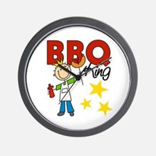 Barbecue King Wall Clock