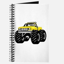 Yellow MONSTER Truck Journal