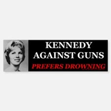 Kennedy Against Guns Bumper Bumper Bumper Sticker
