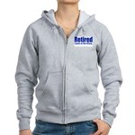 Retirement Women's Zip Hoodie