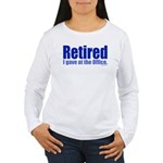 Retirement Women's Long Sleeve T-Shirt