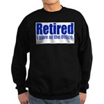Retirement Sweatshirt (dark)