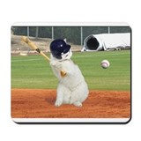 Baseball cat Mouse Pads