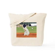 Baseball Cat Tote Bag