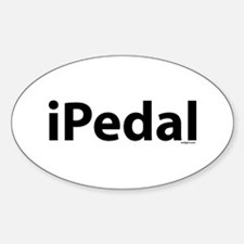 iPedal Oval Decal