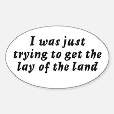 Misc Roswell Quotes Oval Decal