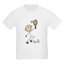Tennis Stick Figure T-Shirt