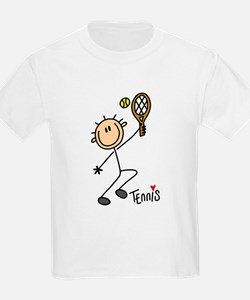 Tennis Stick Figure T-Shirt