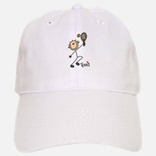 Tennis Stick Figure Cap
