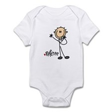 Referee Stick Figure Infant Bodysuit