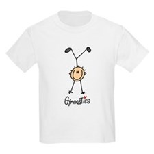 Gymnastics Stick Figure T-Shirt